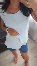 NEW Italian Fashion Women's Ladies Girls Top Blouse T-Shirt casual regular size