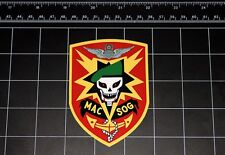 Mac V Sog skull decal sticker Vietnam War military Army Marines Navy black ops
