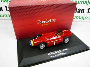 F1F1 voiture atlas 1/43 F1 Ferrari Formule 1 champion : D50 1956 JM FANGIO