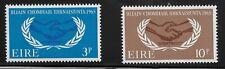 Ireland Scott #202-03, Singles 1965 Complete Set FVF MNH