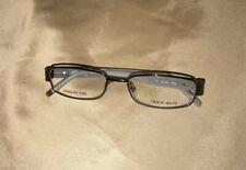 NEW! Genuine GIORGIO ARMANI Eyeglass Frames  52-17-140 ga349 gray steel metal