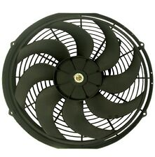 """16"""" REVERSIBLE ELECTRIC 12V UNIVERSAL AUTO COOLING RADIATOR FAN"""