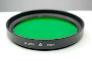 120mm Green  lens filter, Soviet made,  excellent condition.