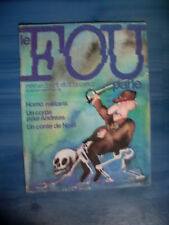 revue LE FOU PARLE 6 Rezvani Thevoz Kerleroux Topor Poussin Hennig Vallet..1978