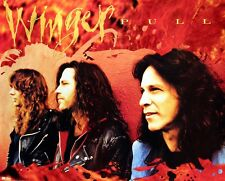 Winger 1993 Pull Original Promo Poster