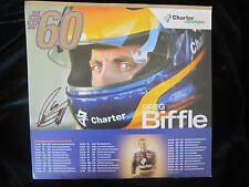 GREG BIFFLE Autograph SIGNED Hero CARD Photo Autographed CHARTER CABLE