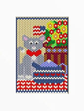 Countrytime Tea Party Beaded Banner Pattern