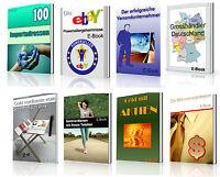 10 TOP Ebook GELD VERDIENEN / EBAY / HANDEL / IMPORT + MRR RESALE WIEDERVERKAUF