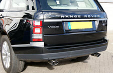Range Rover Vogue L405 (2013+) - HAWKE Stainless Exhaust Tail Tips (chrome)