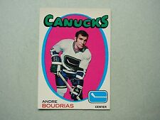 1971/72 O-PEE-CHEE NHL HOCKEY CARD #12 ANDRE BOUDRIAS EX/NM SHARP!! 71/72 OPC