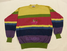 *ICEBERG RETRO CASUAL PULLOVER*SAVE THE AMAZON BALU DER BÄR*GELB*GR: XL*TIP TOP