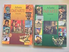 Atlante dell'Arte - doppio volume - Enciclopedia europea - Ed. Garzanti 2001