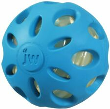 Crackle Heads Ball Dog Toy Large - Blue MSRP $12.99