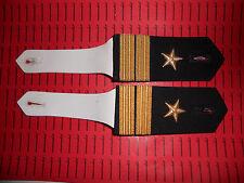 Schulterklappen Rangabzeichen Marine Hemd Oberleutnant z.S. mit Sternen ##1414