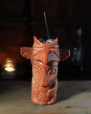 Totem Pole Cocktail Vessel Ceramic Drink Mug Cup Gift Barcart Drinking