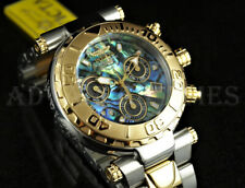 Invicta 47mm Subaqua Noma I NEXT GEN Ltd Ed Swiss Movt Abalone Dial 18K TT Watch