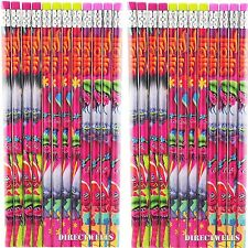 NEW 24 pc TROLLS MOVIE PENCILS BIRTHDAY PARTY FAVORS BAG FILLERS GIFTS