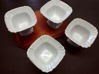 4 Ceramic Compote Dishes.