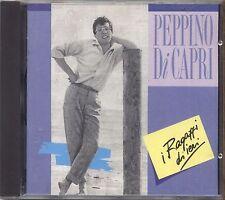 PEPPINO DI CAPRI - I ragazzi di ieri- CD 1990 COME NUOVO