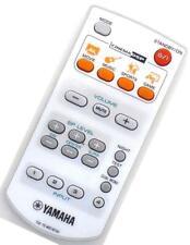 Original Yamaha WD76700 Heimkino Tonanlage Fernbedienung (Weiß) für TSS-15