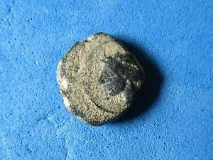 RARE coin of Carthago Nova/Spain 220-215B.C. Hannibal Tanit/ Helmet