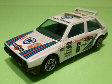 BBURAGO LANCIA DELTA S4 - WHITE MARTINI 1:43 - RARE SELTEN - GOOD CONDITION
