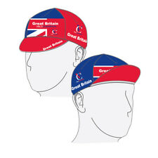 Cycling Cap Tech Great Britain Sport Hat Visor Outdoor Bike Running Riding UK