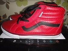 Vans Skateboarding SK8 Hi Vert Pro Hosoi Hammerhead Rojo Talla Zapato 8.5