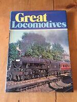 "1978 ""GREAT LOCOMOTIVES"" ILLUSTRATED RAILWAY HARDBACK BOOK"