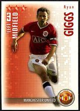 Ryan Giggs Man, Utd Shoot Out 2006-7 Magic Box Football Trade Card (C1303)