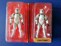 "LOT OF 2 GALOOB STAR WARS Storm Trooper 4"" Tall ACTION FIGURES ~ NEW"