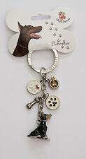 Doberman Pinscher Key Chain - Little Gifts - Enamel