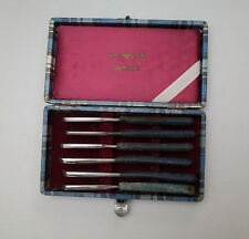 Kamisori Japanese Straight Razor Lot With Storage Case