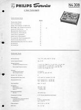 Philips Service Manual Pour N 4308