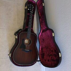 LEFTY 2017 Taylor 320 Dreadnought Acoustic Guitar Mahogany Left Handed
