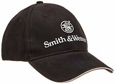Smith And Wesson Men's Embroidered Logo Cap Black One Size