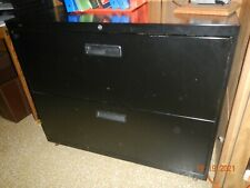 2 Drawer Lateral File Cabinets Heavy Duty Steel Lockable