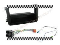 Kit mascherina autoradio 1 DIN + adattatore antenna VW Volkswagen Polo