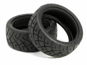 HPI Racing 4790 X-Pattern Tire 26mm D Compound (2) Sprint 2 Nitro