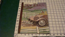 Original Complete THE NEW YORKER - October 7, 1933 w PETER ARNO cover
