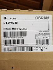 Osram L58W/930 5ft Tube Bulb 25 pack. Deluxe White.