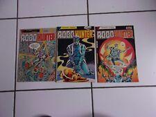 lot 3 bd ROBO HUNTER  (en français) n° 2 4 et 5 (Aredit 1984 )