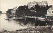 Christmas Cove ME HOLLY INN c1920s Real Photo Postcard #15