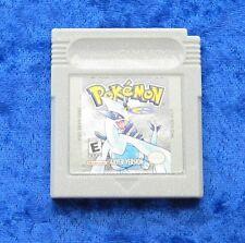 Pokemon Silver Version, Nintendo GameBoy Spiel, Englisch - English game