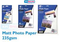 "6x4""/7x5""/A4 Matt Photo Paper Popular Size Inkjet Printer Premium Quality Paper"