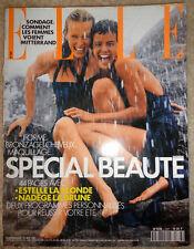 Vtg Elle French 5/1991 Helena Christnsen Estelle Lefebure Nadege Tanita Tikaram