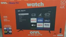 ONN Roku Smart 50'' TV 4K UHD