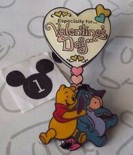 Winnie the Pooh and Eeyore Especially for Valentine's Day Heart Disney Pin 52386