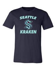 Seattle Kraken Arch Logo T-shirt 6 Sizes S-3XL!!!!