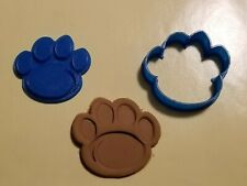 Penn State Pawprint Logo Design Cookie Cutter with Detail Impression Disc